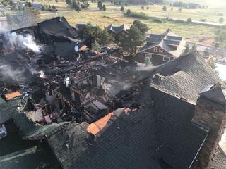 Fire heavily damages historic Estes Park lodge