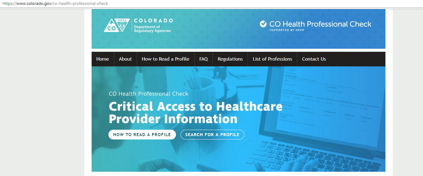 Step By Step How To Check A Health Care Professional S License