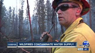 Could wildfires contaminate drinking water?