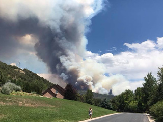 Lake Christine Fire grows in acreage