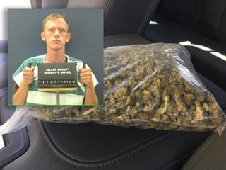 Suspect tried to sell marijuana to sheriff's son