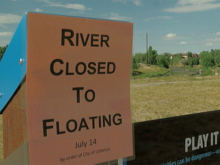 Littleton closes Platte River to stop tubing day