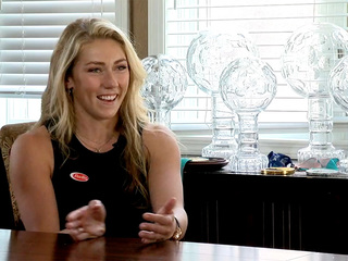 Mikaela Shiffrin talks about life as an Olympian