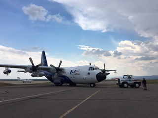 Plane will fly into wildfire smoke for research