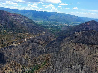 These photos show the power of the 416 Fire