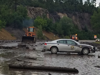 Heavy rain causes flooding, mudslides in Colo.