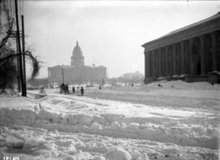 Here are pics of Colorado's 1913 blizzard