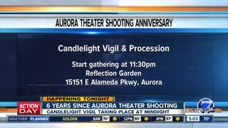 Vigil, procession in memory of theater shooting