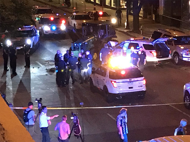Tractor leads police on a chase through downtown