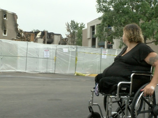 Double amputee displaced from Westminster fire