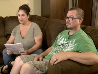 Family: Bank closed accounts because of pot job