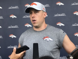 Keenum misses practice; Will be ready for Ravens