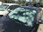Hail damage is worse, but climate role uncertain
