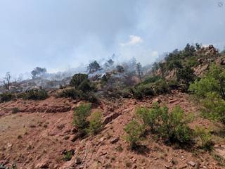 Firefighters get handle on Glenwood Springs fire