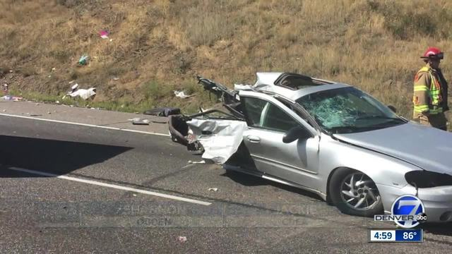Child killed in I-70 crash near Lookout Mountain that shut down…