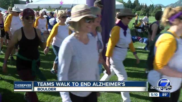 More than 1-000 Coloradans Walk to End Alzheimer-s in Boulder
