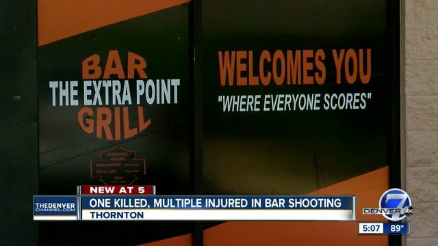 One dead- 4 others injured in overnight Thornton bar shooting