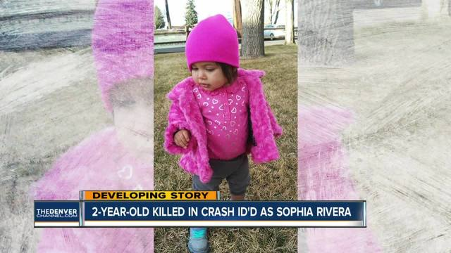 Toddler killed in I-70 crash identifed