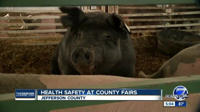 Salmonella cases linked to Arapahoe County Fair rise to 9- officials…