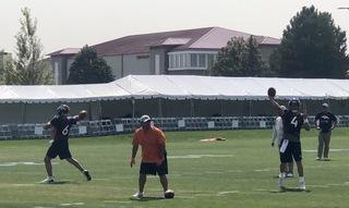 Kelly earns second-team reps in Broncos practice