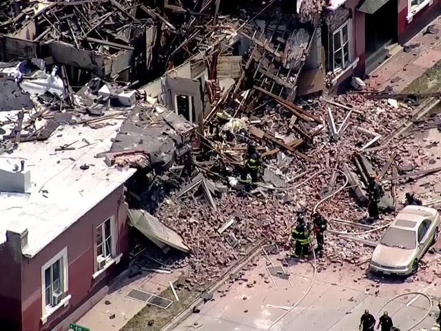 10 injuries reported after natural gas explosion