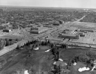 Historical photos of Denver shopping centers