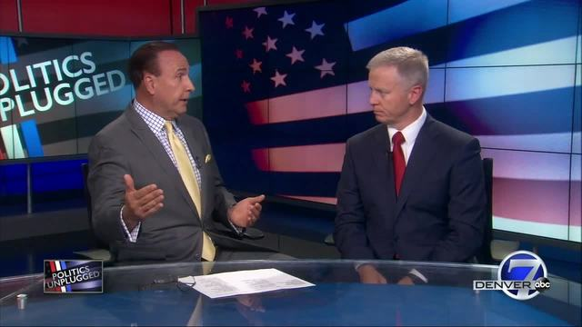 Tony Kovaleski sits down with AG candidate George Brauchler on Politics…