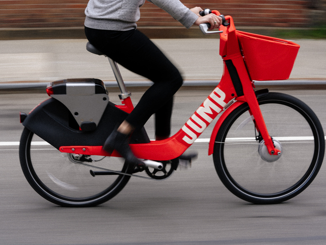 uber jump bikes how to avoid a surprise 25 fee for riding new electric bikes denver7. Black Bedroom Furniture Sets. Home Design Ideas