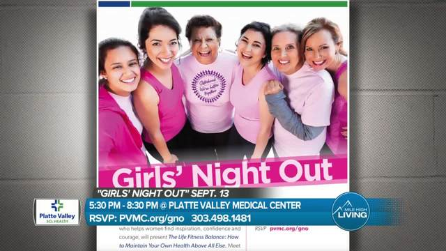 Check out Girl-s Night Out hosted by Platte Valley SCL Health on September 13th-