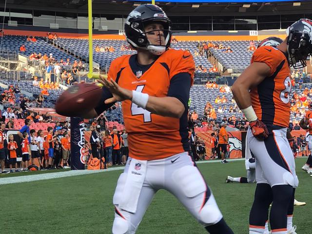 Broncos Case Keenum Embraces Pressure Of Regular Season Debut