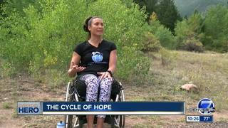 Outdoor camp for women in wheelchairs