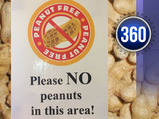 Peanut allergies lead to allergen-free zones