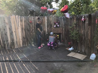 8-year-old injured, father, uncle killed