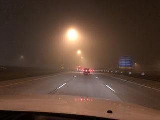 Fog causes travel delays in North Metro