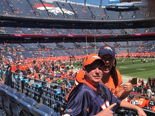 Wish comes true for Broncos super fan from NC