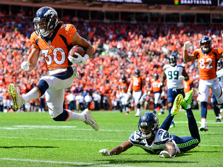 WATCH: Phillip Lindsay's first NFL touchdown