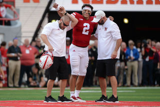 Huskers coach says play might have been dirty