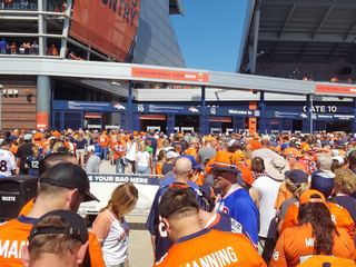 Broncos mobile tickets give some fans headaches