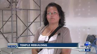 7Everyday Hero leads rebuilding of temple