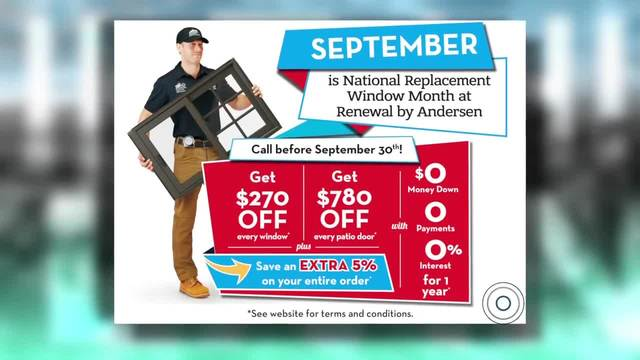 Exclusive MHL Deals on Windows and Patio Doors from Renewal by Andersen