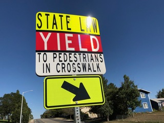 Two students injured in separate auto-peds