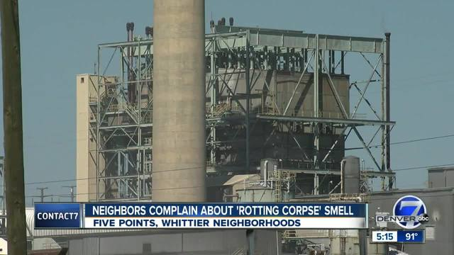 -It smells of death-- North Denver residents say neighborhood stink is…