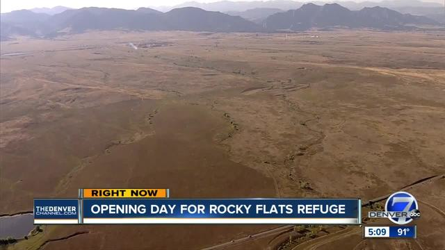 Rocky Flats National Wildlife Refuge opens trails to the public