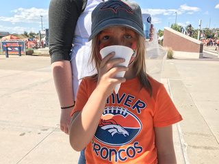 Broncos install hydration stations for 1st time