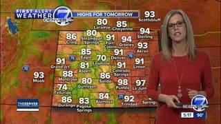 Cooler weather arrives- middle/end of next week