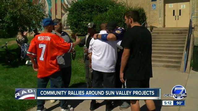 Community rallies around Sun Valley Projects one last time before homes…