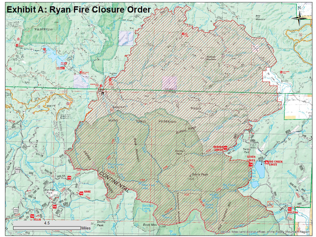 Ryan Fire near Colorado-Wyoming border grows to 1,800 acres ...
