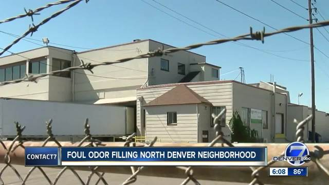 Foul smell lingers in north Denver- company responsible says it-s…