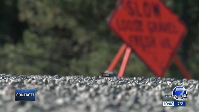 Douglas County drivers suffer damage to vehicles from CDOT project on…