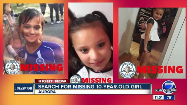 FBI joins search for missing Aurora girl